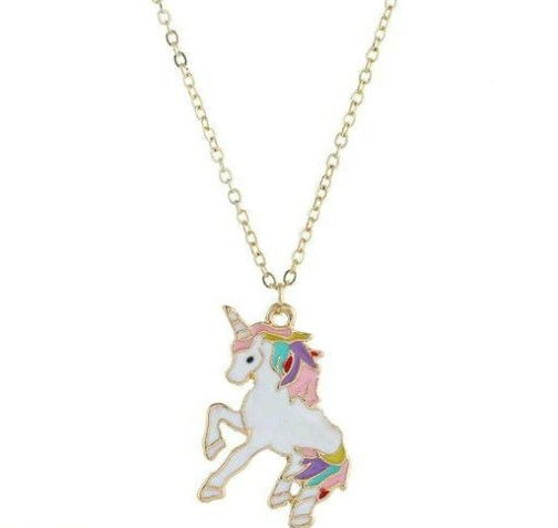 Unicorn Pendent with Chain