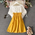 Party Special Korean Chiffon 1 Piece Dress