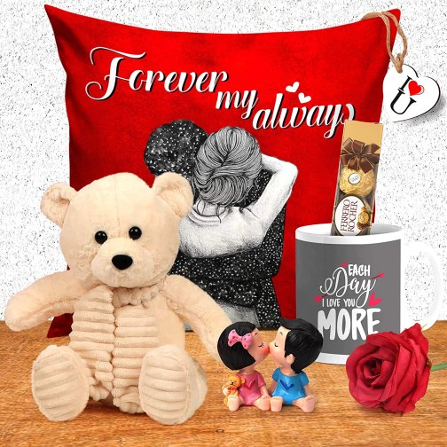 Valentine Week Gift Combo Pack: Celebrate 7 Days In a single Pack