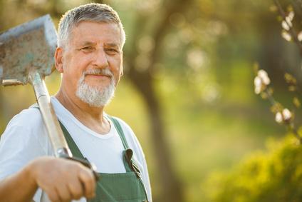 <strong>Der Gartenbau ist für viele Menschen ein idealer Ausgleich zum stressigen Arbeitsalltag.</strong><br/>© lightpoet - Fotolia.com