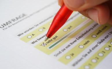 <strong>Die Umfrage ist ein Instrument der Marktforschung.</strong><br/>© cirquedesprit - Fotolia.com