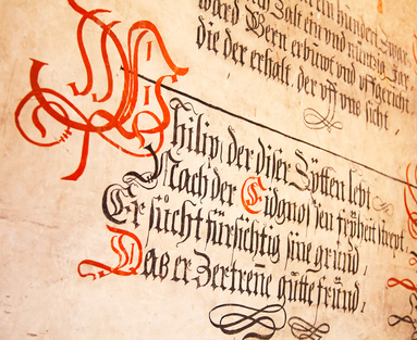 <strong>Die Kalligrafie ist über all zu finden, wo das Abschreiben von Heiligen Texten als geweihter Vorgang angesehen wird.</strong><br/>© swisshippo - Fotolia.com