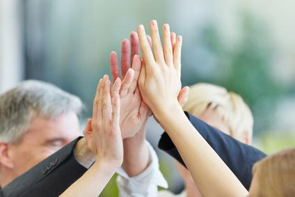 <strong>Mitarbeitermotivation ist in großen und kleinen Unternehmen ein wichtiges Thema.</strong><br/>© Robert Kneschke - Fotolia.com