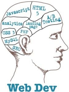 Abstrakt-logisches Denkvermögen ist eine der Grundvoraussetzung für angehende Web-Developer. © Michael Brown - Fotolia.com