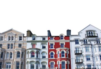 Damit Mietshäuser so adrett aussehen wie diese, bedarf es einer guten Hausverwaltung.