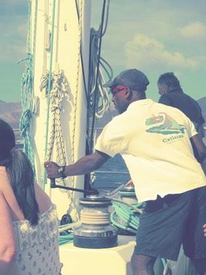 03_Carl-at-work-Sailing-Lanzarote