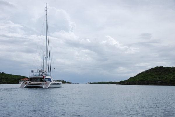 09_Einfahrt-Spanish-Waters-Curacao