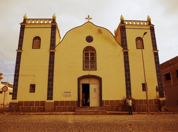Sal Rei Kirche Santa Isabel Boa Vista Kapverden
