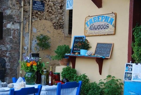 Taverna Knossos Rethymnon Kreta Griechenland