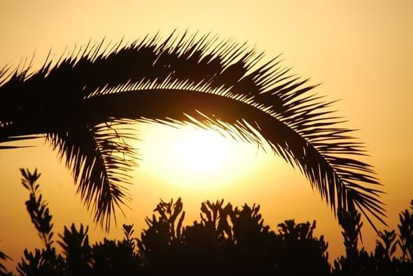 Sonnenuntergang Rethymnon Kreta Griechenland