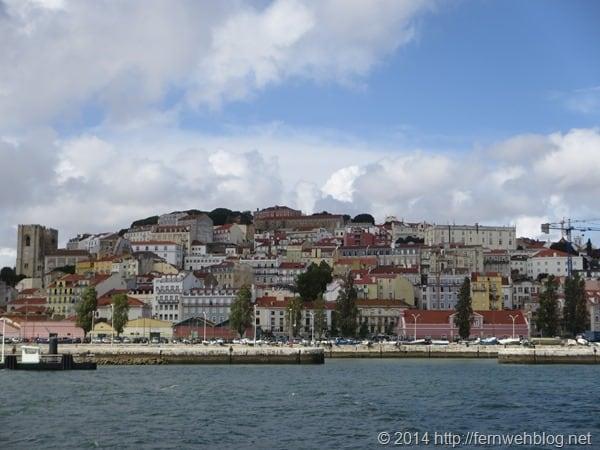 Hafenrundfahrt Lissabon Portugal Tejo