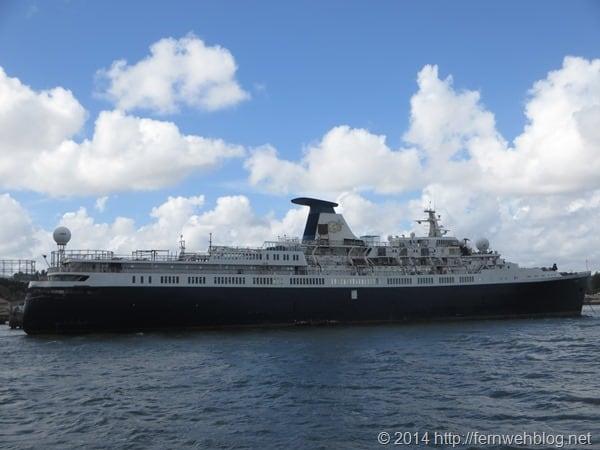 Hafenrundfahrt Lissabon Portugal Kreuzfahrtschiff Lisboa Princess Danae