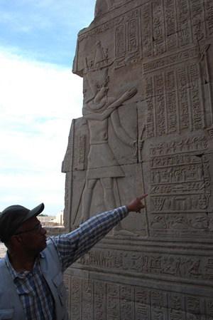 Doppeltempel von Kom Ombo Guide Hammad Ägypten