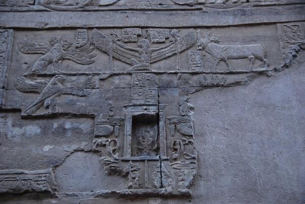 Doppeltempel von Kom Ombo Rückseite Allerheiligstes Ägypten