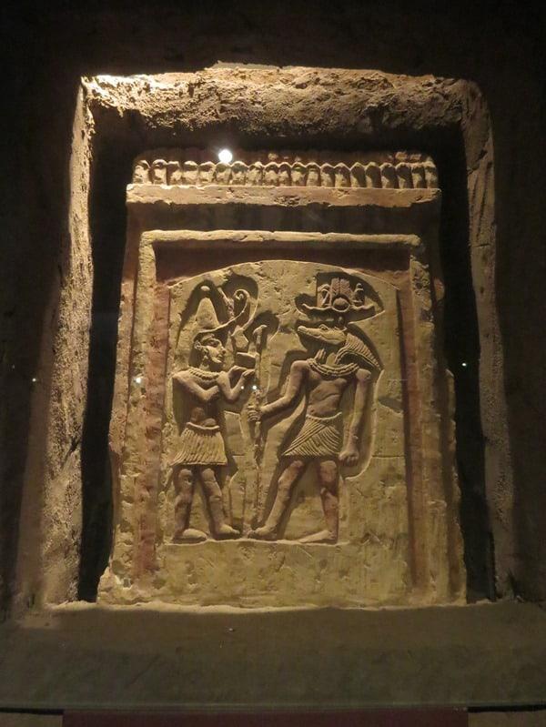Krokodilmuseum Kom Ombo Krokodilgott Sobek Nil Ägypten
