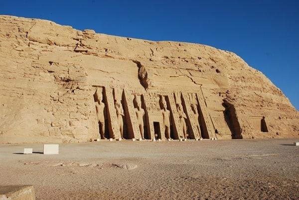 Abu Simbel Großer Tempel Ägypten Urlaub Nilkreuzfahrt