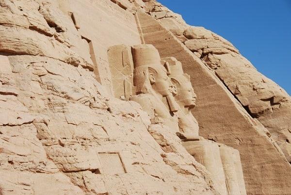 Abu Simbel Hathor Tempel Ägypten Urlaub Nilkreuzfahrt