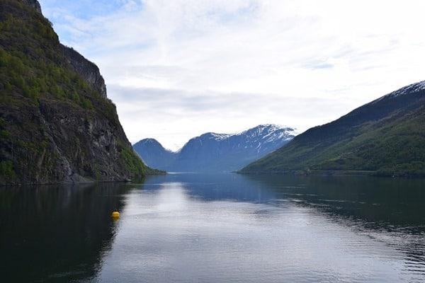 Geirangerfjord Norwegen Geiranger Landschaft Auslaufen