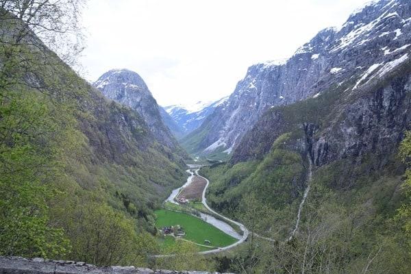 Nærøydalen-Tal Norwegen