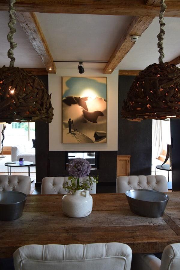 03_Kamin-Esszimmer-Penthouse-Suite-Kempinski-Hotel-Das-Tirol-Kitzbuehel