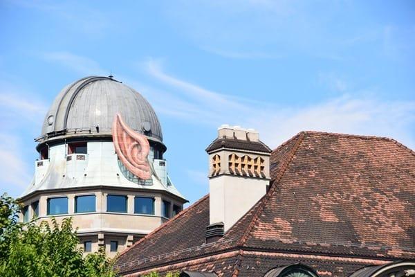 Zürich Sehenswürdigkeiten Schweiz Spock-Ohren Sternwarte Urania