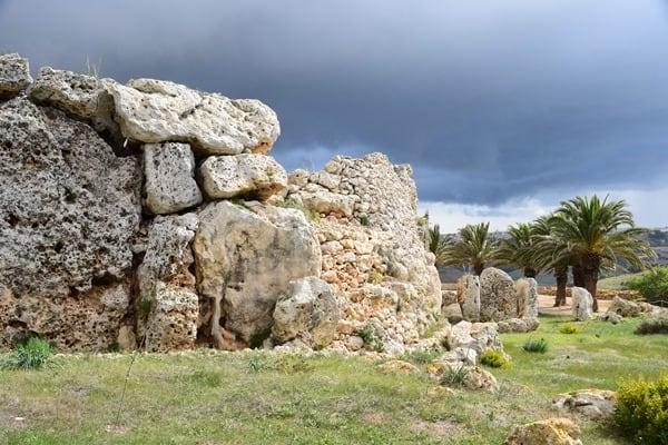 Malta Gozo Urlaub Sehenswürdigkeiten Tipps Ggantija-Tempel Ausgrabung