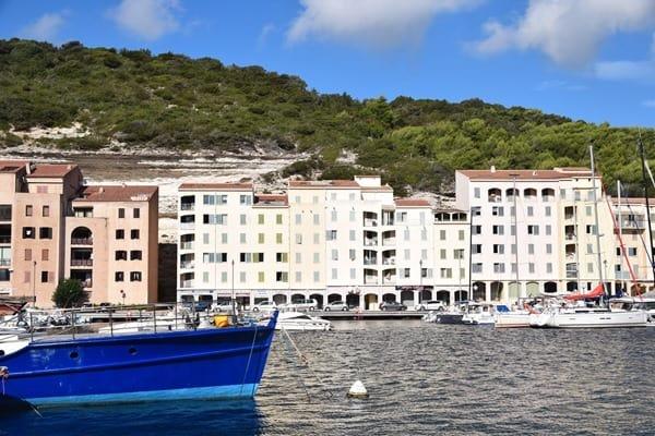 Bonifacio Korsika Hafen Frankreich
