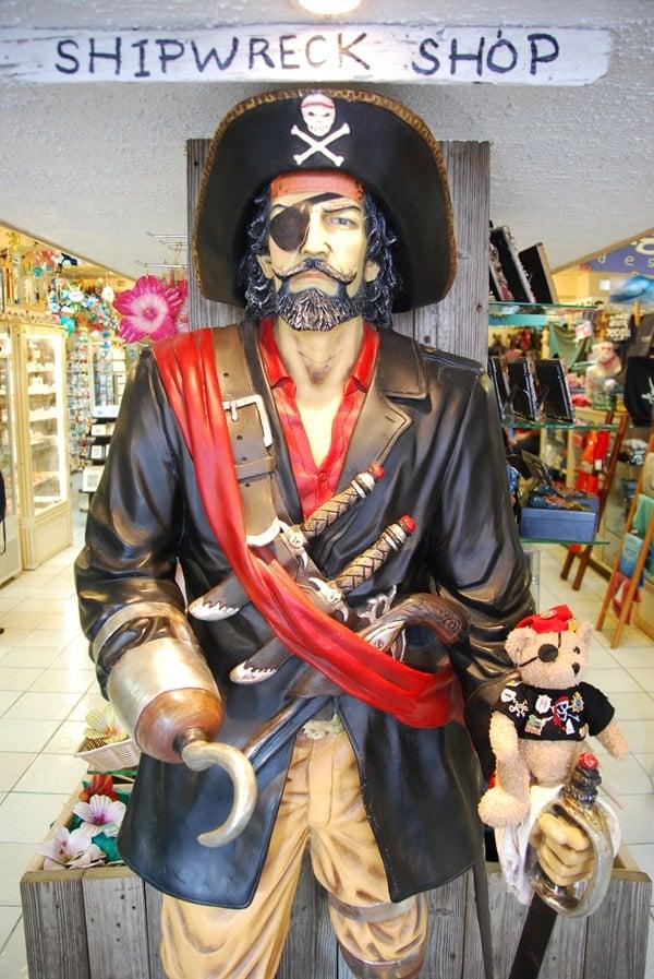 Jack-Bearow Pirat-Saint-Martin-Karibik
