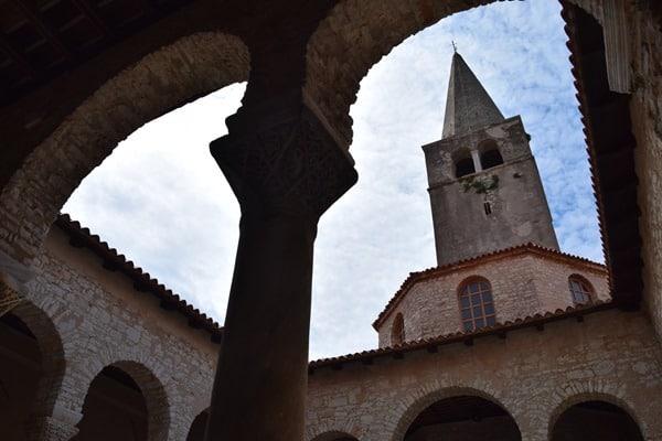 Porec Kroatien Glockenturm Euphrasius Basilika Istrien