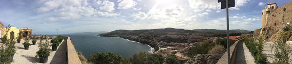 Castelsardo Sardinien Panorama Ausblick Costa Paradiso Italien