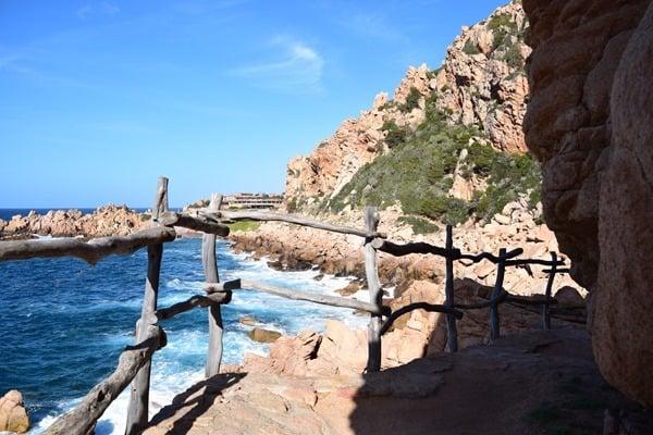 Wanderweg Steilküste Costa Paradiso Li Cossi Sardinien Italien