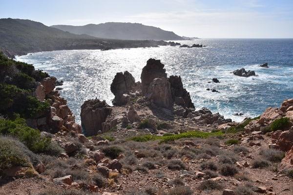 Steilküste Costa Paradiso Li Cossi Sardinien Italien