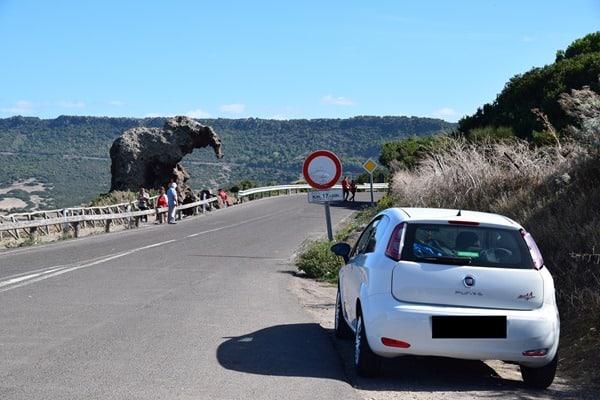 Roccia dell'Elefante Elefantenfelsen Sardinien Italien