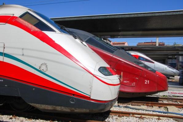 Venedig Banhof Santa Lucia Ferrovia Italienische Schnellzüge
