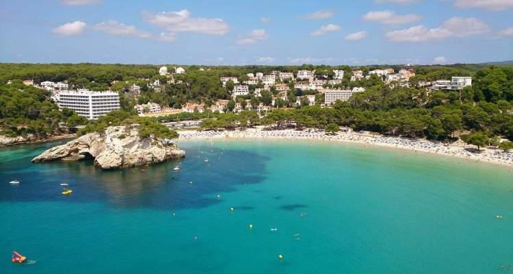 Urlaub auf Menorca Strand