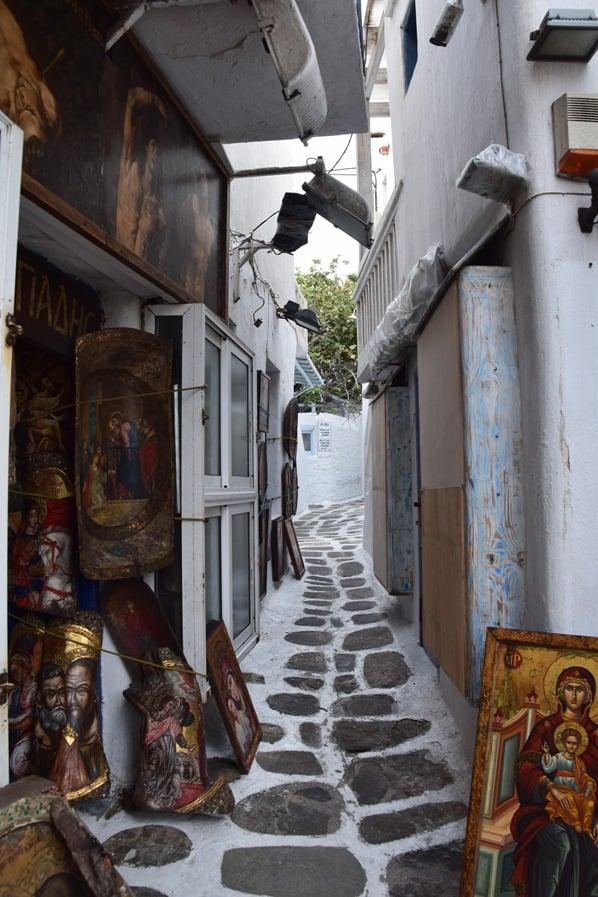 05_Kreuzfahrt-Mykonos-Stadt-Gassen-Einkaufen-Griechenland