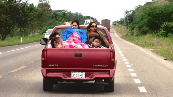 Roadtrip Palenque Mexiko Sehenswürdigkeiten Chiapas Strasse Pickup