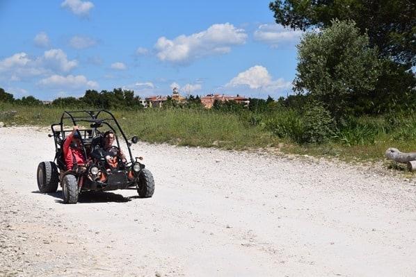 Naturpark Kap Kamenjak Motorsport Istrien Kroatien