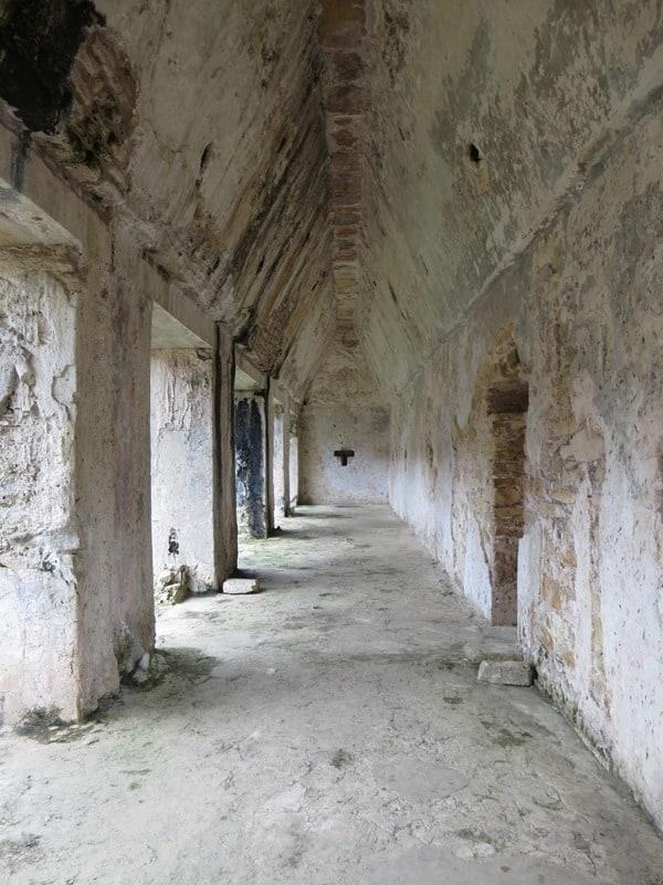 Palenque Mexiko Sehenswürdigkeiten Maya Stätte Ruine Palast Gang