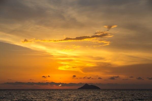 Sonnenuntergang-Kommos-Beach-Kreta