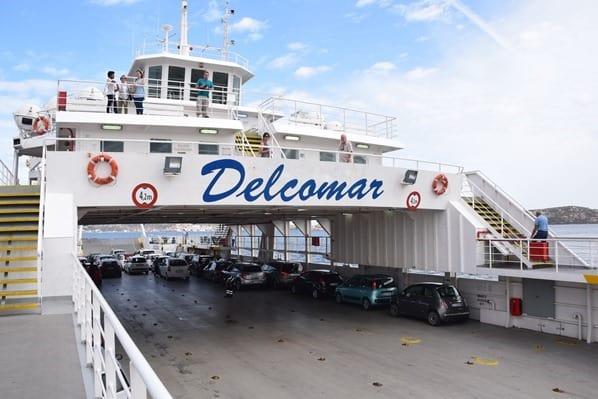 La Maddalena Sardinien Delcomar Fähre Palau Italien Mittelmeer