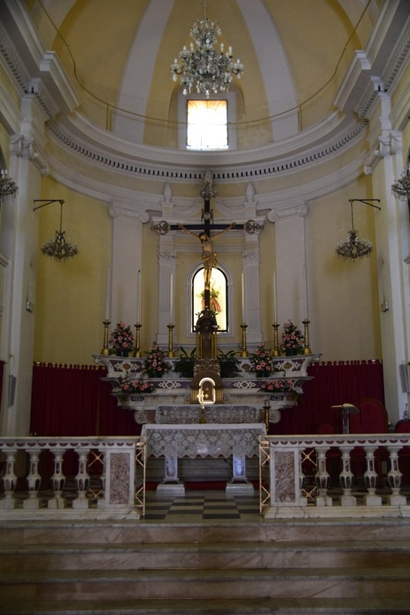 La Maddalena Sardinien Kirche Parrocchia Santa Maria Maddalena Italien Mittelmeer