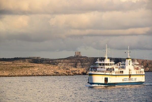Gozo Malta Fähre Comino Ferry Gozo Channel Line