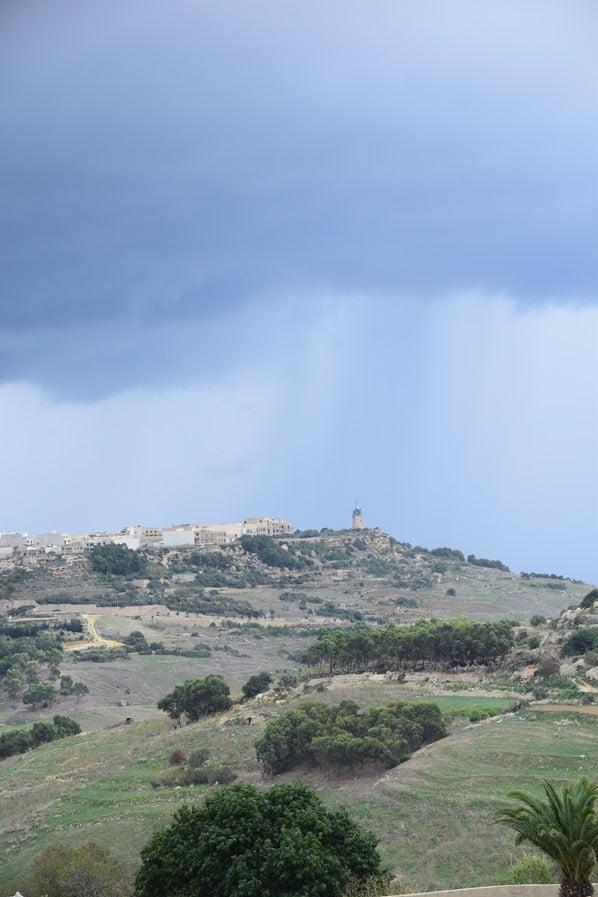 Gozo Malta Wandern Sehenswürdigkeiten Unwetter Landschaft
