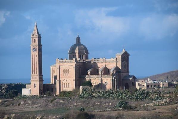 Gozo Malta Wandern Sehenswürdigkeiten Kirche Basilika ta' Pinu