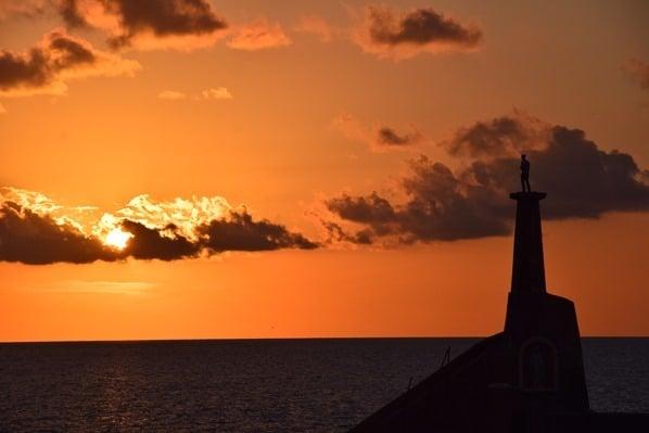 Gozo Malta Wandern Sehenswürdigkeiten Sonnenuntergang Hafen Cirkewwa