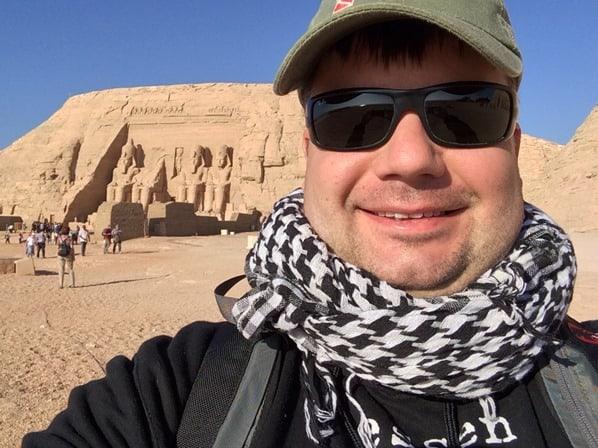 Reiseblogger Daniel Dorfer Abu Simbel Großer Tempel Ägypten Nilkreuzfahrt