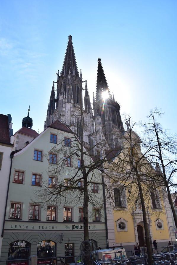Regensburg Sehenswürdigkeiten Regensburger Dom St. Peter Bayern Deutschland