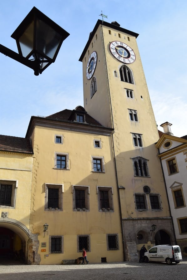 Regensburg Sehenswürdigkeiten Altes Rathaus Altstadt Bayern