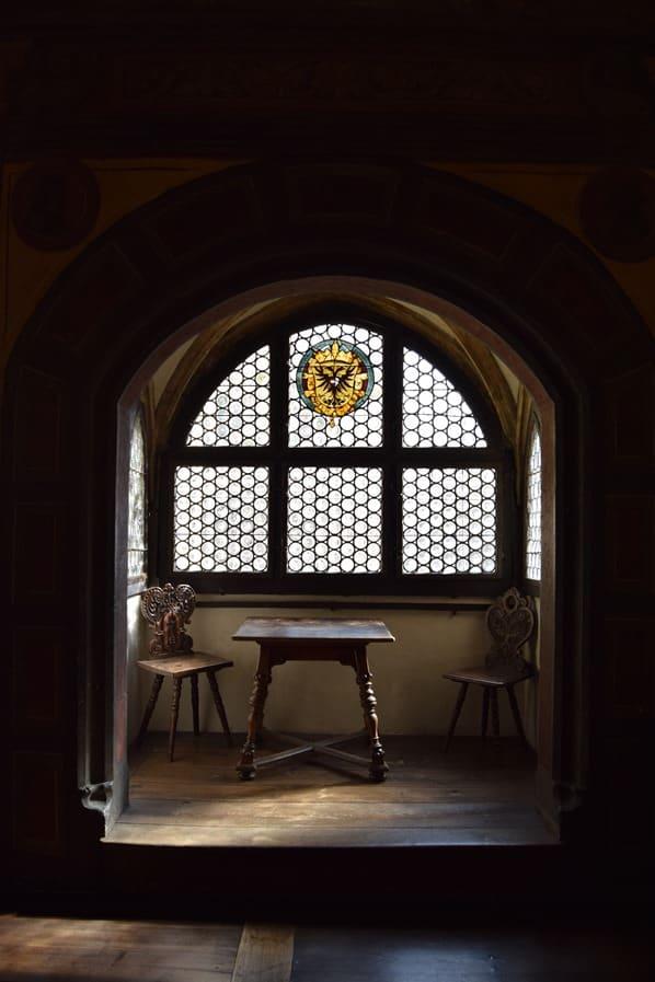 Regensburg Sehenswürdigkeiten Fenster Großer Sitzungssaal Altes Rathaus Bayern Document Reichstag